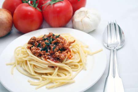 italien: Spagetti Bolognese Stock Photo
