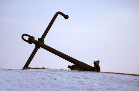 big anchor Stock Photo