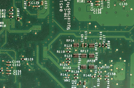 electrical circuit Stock Photo