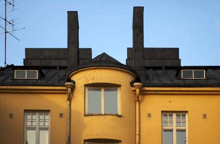 facade from helsinki Stock Photo
