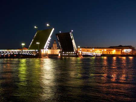 Palace Bridge raising photo
