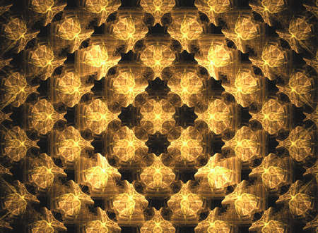 suggesting: Fractal suggesting a faceted roof section, shapes, squares and stones