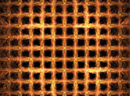 suggesting: Fractal suggesting waffles dripping with maple syrup