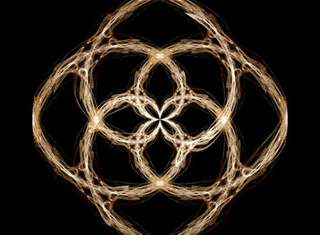 suggesting: Fractal suggesting the old fashioned art of tatting