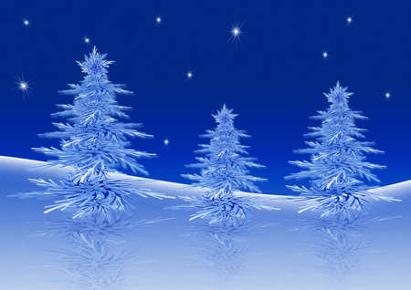 Christmas trees Stock Photo - 1761636
