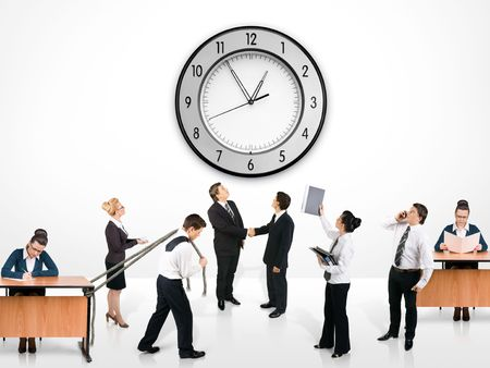 timemanagement: Business team