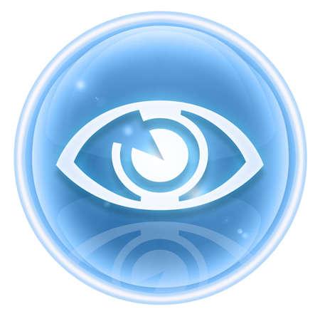 eye icon ice, isolated on white background. Stock Photo - 4559712