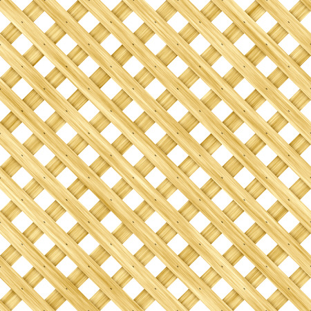 lattice: Wooden lattice Stock Photo