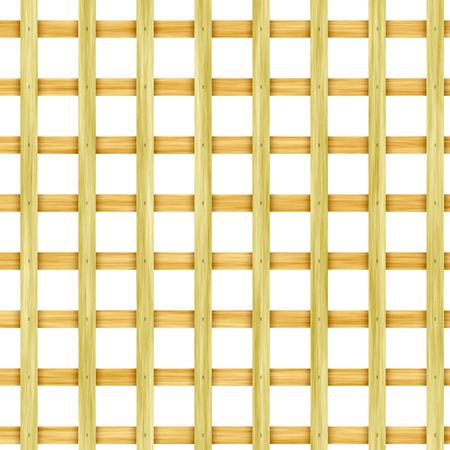 latticed: Wooden lattice Stock Photo