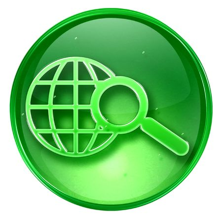 searchengine: Search and magnifier icon. (With Clipping Path)