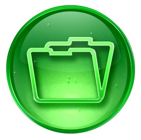 Folder icon. (With Clipping Path)