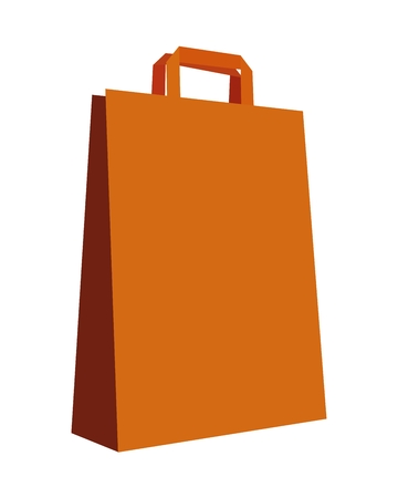 Vector illustration of a shopping bag.