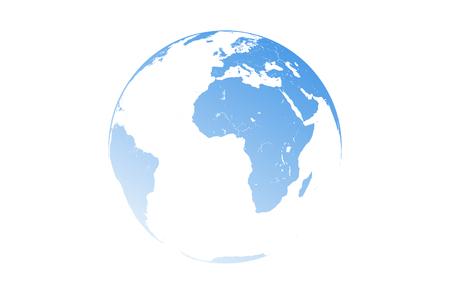 Vector illustration of the world. Illustration