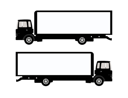 Vector illustration of a truck.