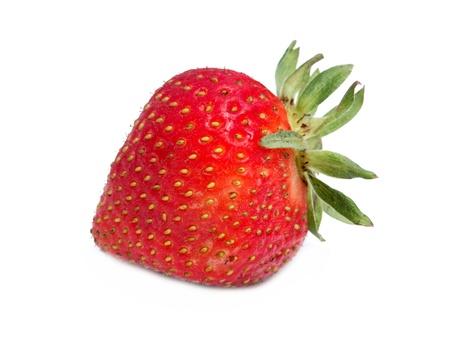 Strawberry isolated on white. Stock Photo