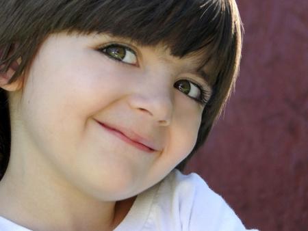 Cute smiling little boy.