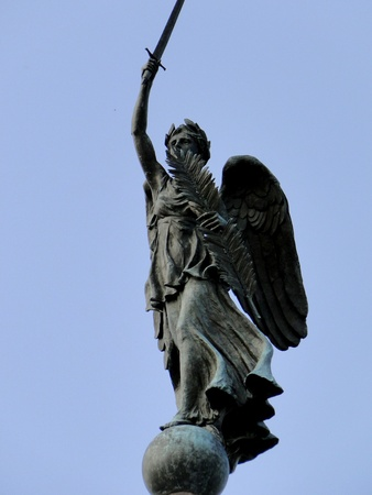 adams: Pennsylvania Monument - Gettysburg Battlefield Pennsylvania