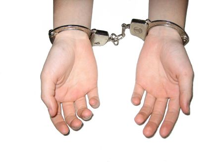 restrained: Restrained Stock Photo