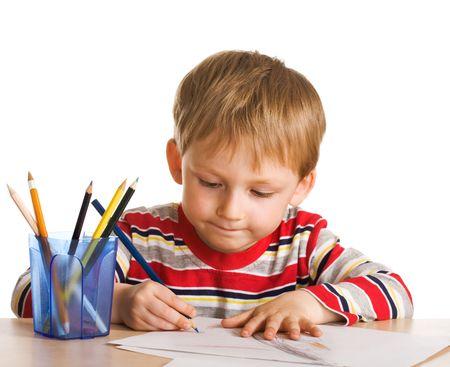 Small painter Stock Photo - 3029403
