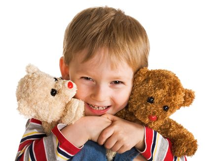 Happy day of little boy Stock Photo - 3029441