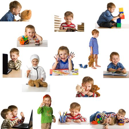Set playing child Stock Photo - 3092670