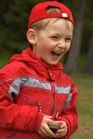 Niño alegre  Foto de archivo - 3121532