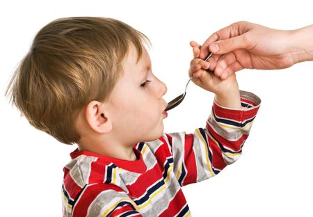 accepts: Child accepts a medicine