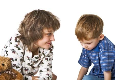 conversa: Madre culpable conversaciones a hijo