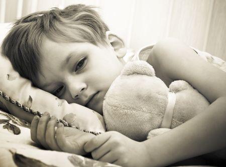 ni�os tristes: Sick Boy