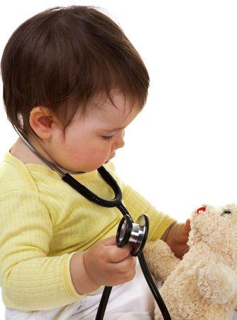 Baby medico Archivio Fotografico - 5185977