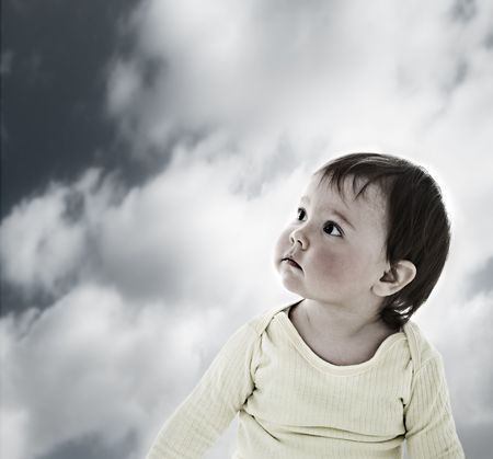 Lost baby Stock Photo - 5356560