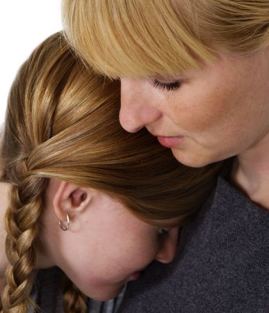 Mother and daughter Stock Photo - 5469250