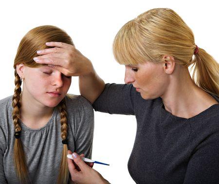Sick girl adolescentes