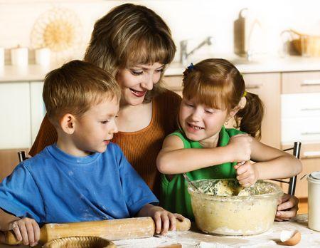 Baking together photo
