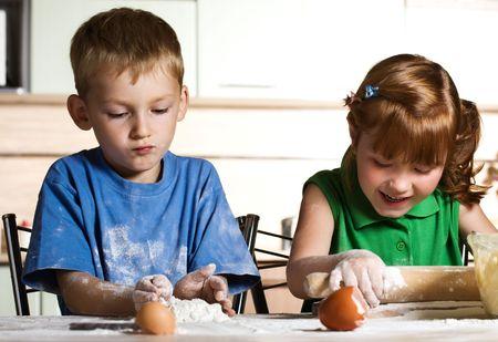 Kitchen assistants photo