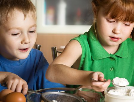 bolter: Little cooks Stock Photo