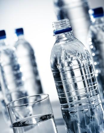 bottled: Drinking water