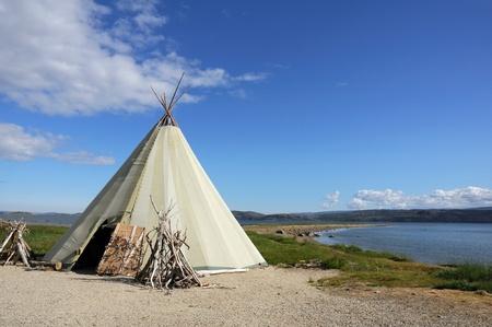tepee: indian tepee