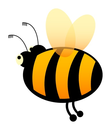 pollinator: Bee Cartoon Character
