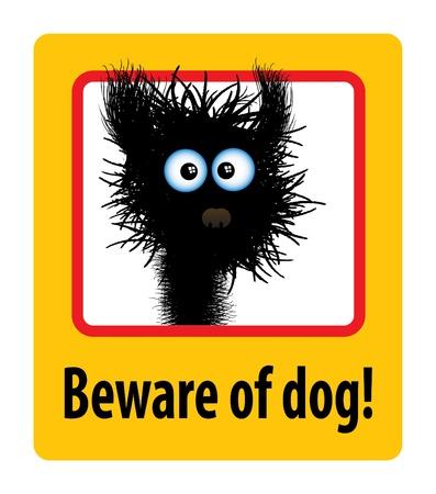 beware of the dog: beware of dog
