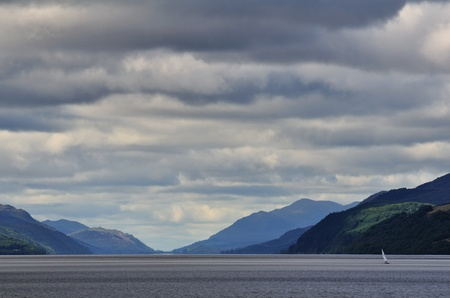 ness: Loch Ness lake in Scotland, summer