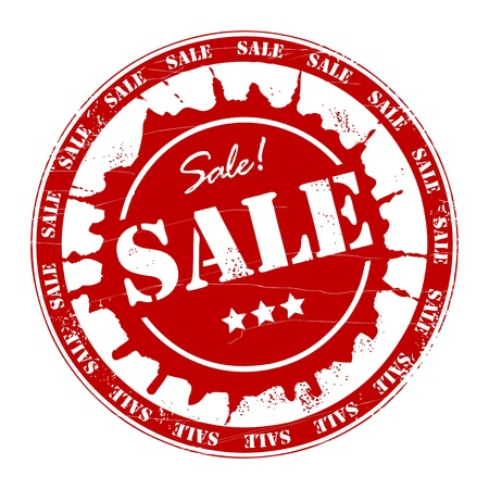 Sale stamp  Vector