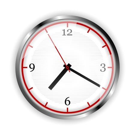 Wall clock Stock Vector - 13753177