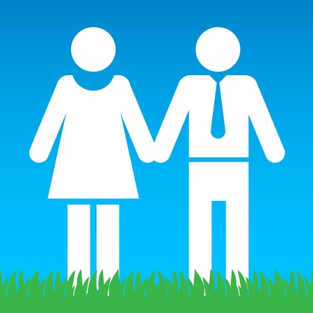 male symbol: Man and Woman