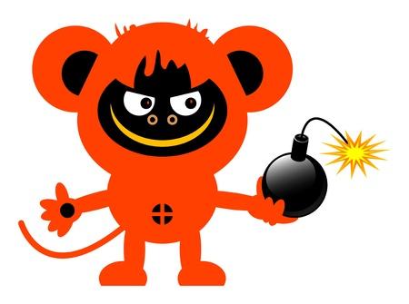 lowbrow: Scimmia e bomba