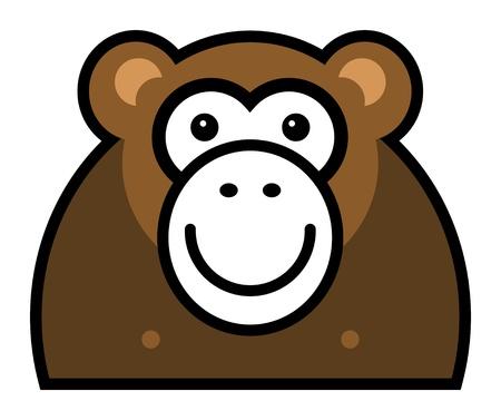 monkey face: Monkey