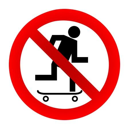 prohibido: No hay se�ales skate