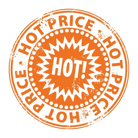 Hot price stamp  Stock Vector - 13766018