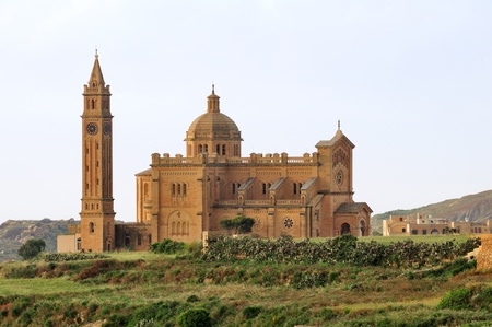 architectonics: Ta Pinu Basilica in Gozo, Malta