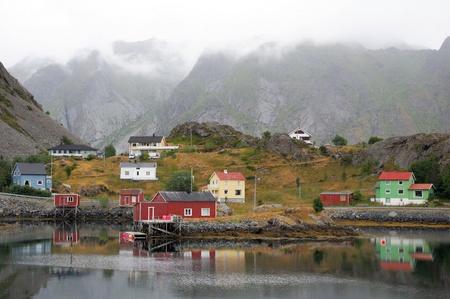 Lofoten in northern Norway photo
